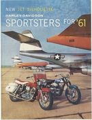 New Jet-Silhouette Harley-Davidson Sportsters for 61