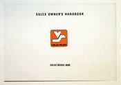 1975 Solex Model 4600 Owners Handbook