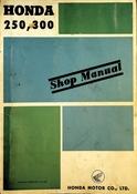 1959-1968 Honda 250 300 Shop Manual