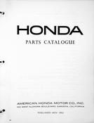 1960-1968 Honda C102 Parts Catalog