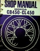 1968 Honda CB450 CL450 Shop Manual